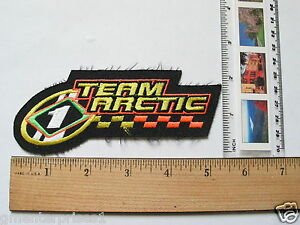 Team Arctic Snowmobile Racing Team Patch