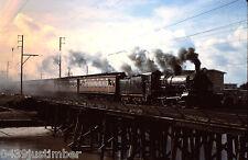 Victorian Railways Steam D3 639 Crossing the Patterson River Bridge January 1969
