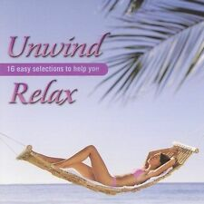 FREE US SHIP. on ANY 2 CDs! ~Used,Good CD Various Artists: Unwind Relax
