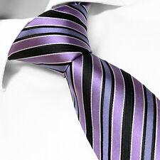 CRAVATE Luxe Violette en Soie Marque Française - French Brand Silk Tie Purple