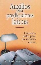 NEW Auxilios Para Predicadores Laicos = Helps for Lay Pastors (Spanish Edition)