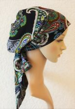 Chemo head covering, chemo hats, bad hair day scarf, head snood, elegant tichel