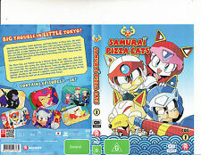 Samurai Pizza Cats-[4 Dis Set-Col 1-Episodes 1 to 26]-1990-Animated SPC-DVD