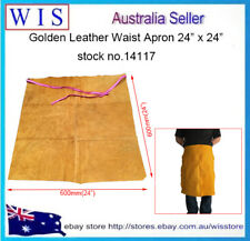 """24"""" x 24"""" Leather Waist Apron,Leather Half Apron for Welding,Timber & Steel Work"""
