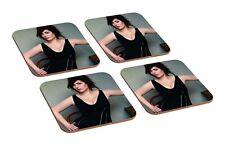 Nigella Lawson 4 Piece Wooden Coaster Set