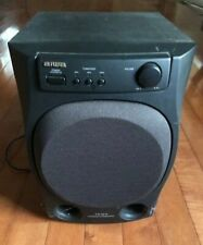 Aiwa TS-W9 Powered Home Theatre Subwoofer Speaker - Tested Works Free Shipping