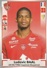 BREST - STICKERS IMAGE PANINI - FOOT 2019 / 2020 - a choisir