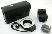 MINOLTA Auto Electroflash Macro 80PX Set Ring-Blitz Makro flash X700 X500 TOP/19