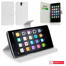 Plain Mobile Phone Wallet Cases for OnePlus One