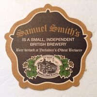 Beer Coaster/ Mat SAMUEL SMITH'S Independent Brewery. ENGLAND