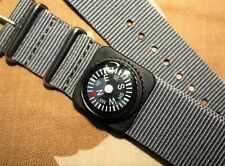 Mini Compass watch strap fit Seiko Citizen Diving Bussola orologio cinturino