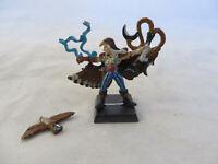 Warhammer Wood Elves basicpainted Spellsinger mage lord hero falcon metal oop