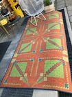 "Vintage Frank Lloyd Wright Rug/Carpet Arizona Biltmore Modern Design 8'11""x4'5"""