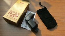 Boxed Sigma EF-430ST MA Electronic Flash Unit Vintage Photography