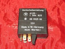 BMW E34 5'ies HEATING REAR WINDOW RELAY CONTROL UNIT Heizung Heckscheibe 1384825