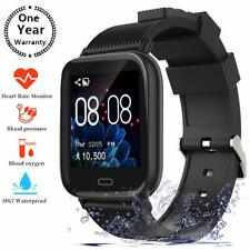 Smart Watch,Fitness Tracker Watch with Heart Rate Monitor Call&Message Sync