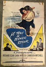 1955 VIEW FROM POMPEYS HEAD FOREIGN MOVIE THEATRE POSTER NATIONAL SCREEN SERVICE