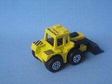 Matchbox Tractor Shovel Digger Mucosolvan Lemon German Promo