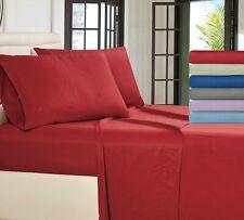 Egyptian Comfort Deep Pocket 1800 Bed Sheet Luxury 4 Piece Microfiber Bed Sheets