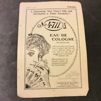 Advertisement - No. 4711 Eau De Cologne  - 1910