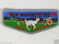 Boy Scout OA Lodge 199 WAHINKTO Flap Patch 75th Anniversary BSA WWW