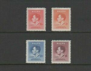 Nauru GVI 1937 Mint MH Set