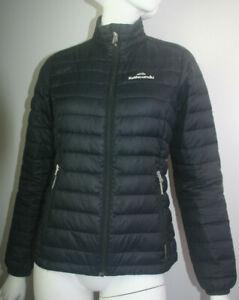 Women's Kathmandu Black 550 Duck Down Lightweight Puffer Jacket Size 8