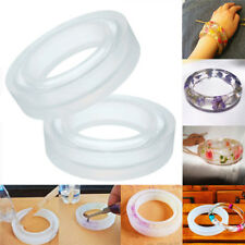 Round Silicone Mold Resin Bracelet Bangle Jewelry Making Casting DIY Mould Tool