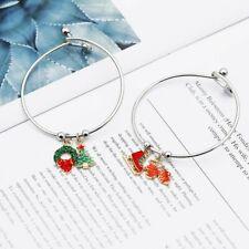 2020 Christmas Santa Claus Elk Bracelet Bangle Pendant Women Jewellery Xmas Gift