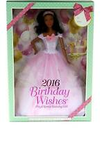 Barbie 2016 Birthday Wishes Doll