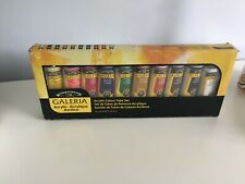 Windsor & Newton Galeria set of 10 tube's of acrylic paint