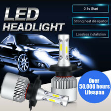 CREE COB H4 HB2 9003 2000W 300000LM LED Headlights Kits Hi/Low Power Bulbs 6000K