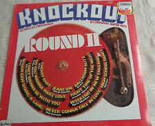KNOCKOUT ROUND II Various LP VINYL Canadian Teevee 20 Track Compilation NEW