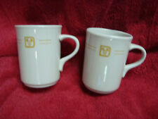Vtg Lot of 2 Coffee Cups Mayer China Porcelain Walt Disney World Hotel 382 482
