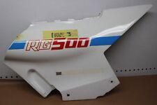 1986 SUZUKI RG500 RIGHT SIDE FRAME COVER FAIRING COWL 47110-20A00 (STPU45)
