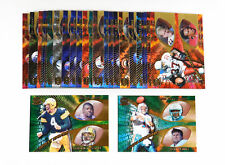 1997 Pacific Team Checklists Football Set (30)