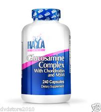 VITAMINA HAYA Labs Glucosamine Chondroitin & MSM Complex 240 tab Glucosamina