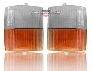 Holden WB Front Indicator Lens PAIR. Statesman Ute Panelvan Sedan. kingswood