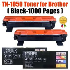 2 X Toner Cartridge Fits Brother Tn1050 Dcp-1512 Dcp1510 Hl-1110 Hl-1112 Mfc1810