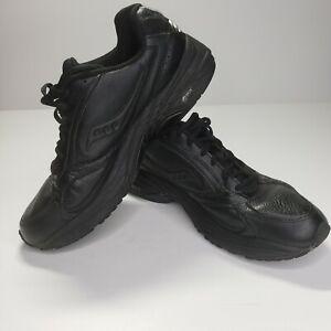 Saucony Men's Grid Omni Walker Walking Shoe Black Size 11 Wide
