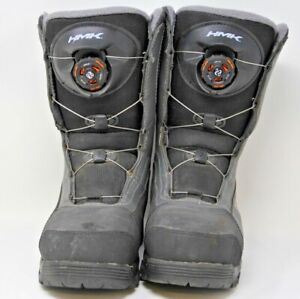 HMK Voyager Boa Snowmobile Boots Size 7 Great Condition Intuition Sympatex