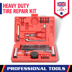 56-Piece Tyre Repair Kit Puncture Puncture Tube Recovery Plugs Heavy Duty 4WD