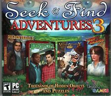 VOYAGE TO FANTASY + PSYCH Hidden Object 4 PACK + BONUS PC Game NEW