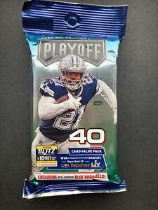 2020 PLAYOFF FOOTBALL 40 CARD VALUE / CELLO PACK NFL