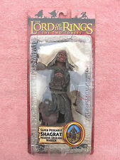 LORD OF THE RINGS: SUPER POSEABLE SHAGRAT - TOYBIZ BOXED FIGURE - FACTORY SEALED