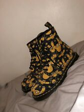 Women's Dr.martens Adventure Time Cartoon Network Boots Size 5&6 Please See Note