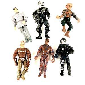 Vintage Lot of 6 Playmates 1990s Star Trek Figures
