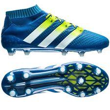 ADIDAS ACE 16.1 PRIMEKNIT FG SOCK FOOTBALL BOOTS MENS BLUE AQ5152 Size 9.5