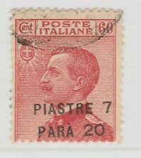 Italy Colony Levant Costantinople Surcharged 1921-22 7,20 on 60c Used A18P43F509