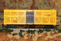 HO Scale yellow The Katy Cattle Car Opening Brown doors M-K-T 508
